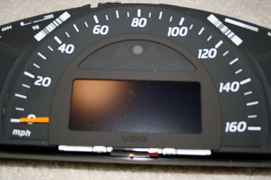Mercedes Benz C-Class Instrument Cluster LCD Display Repair