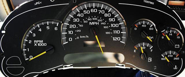 Chevy Envoy Speedometer Repair And Speedometer Calibration Service By Miami