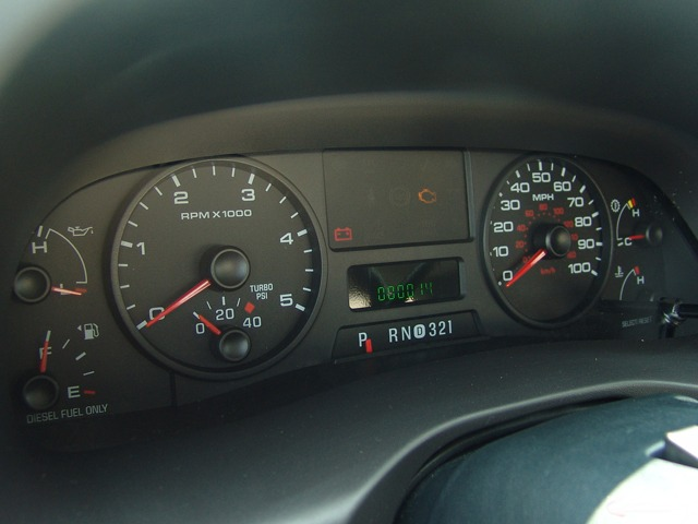 2008 ford f350 instrument cluster repair